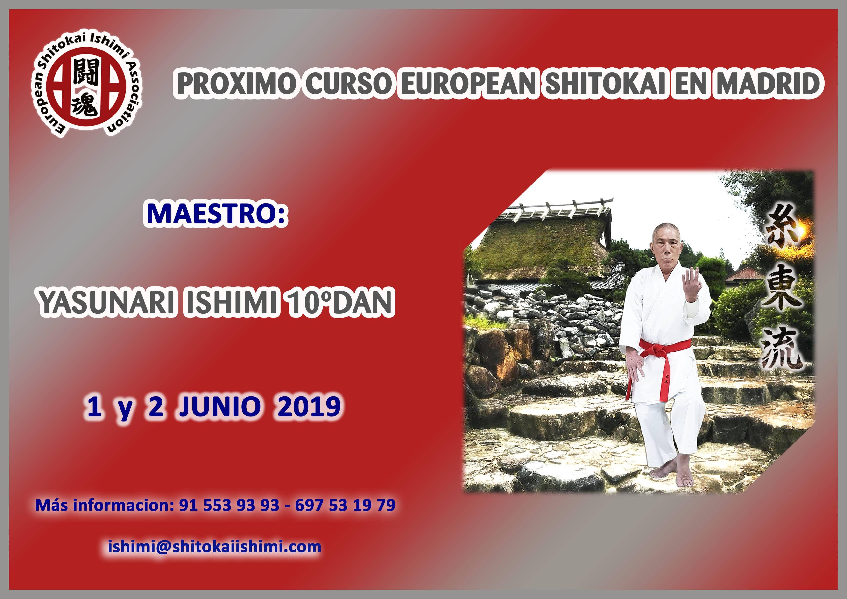 [:es]CURSILLO EUROPEAN SHITOKAI[:en]STAGE EUROPEAN SHITOKAI[:] @ GIMNASIO ISHIMI